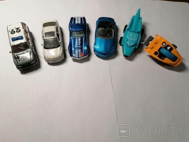 Машинки пластик металл, фото №4