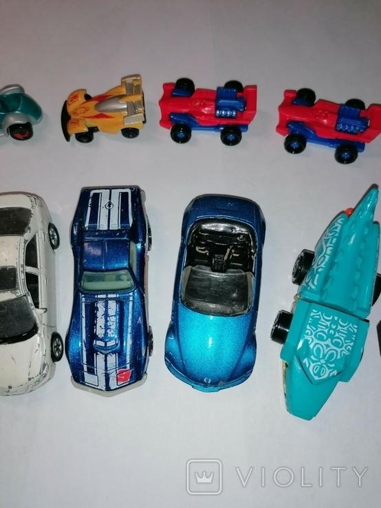 Машинки пластик металл, фото №6
