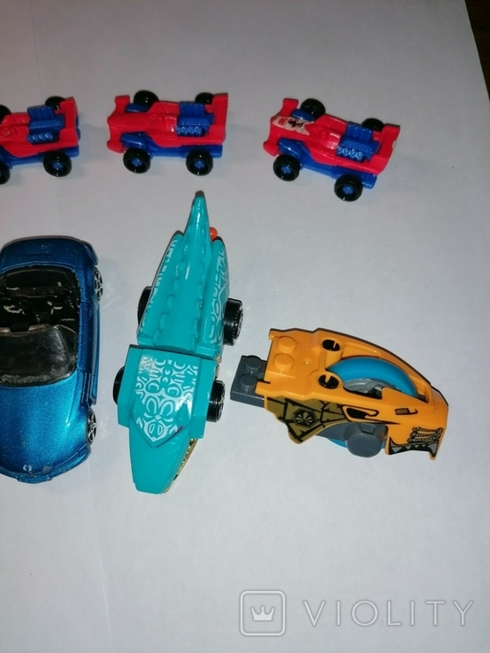 Машинки пластик металл, фото №7