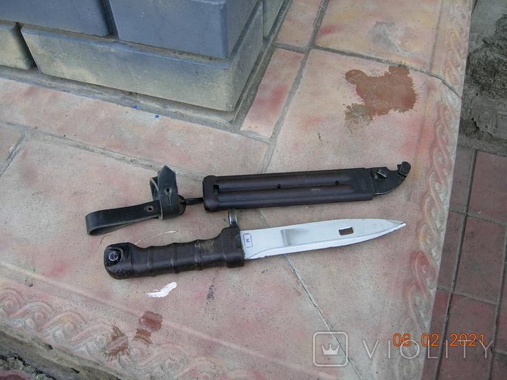Штык-нож АК-74 СССР., фото №8