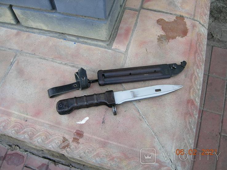 Штык-нож АК-74 СССР., фото №9