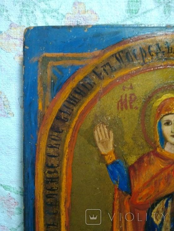 Икона Богородицы. Нерушимая стена., фото №4