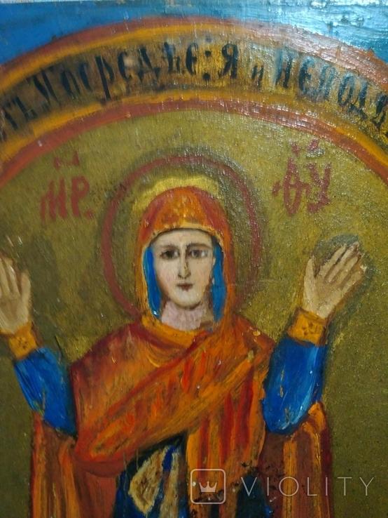 Икона Богородицы. Нерушимая стена., фото №5