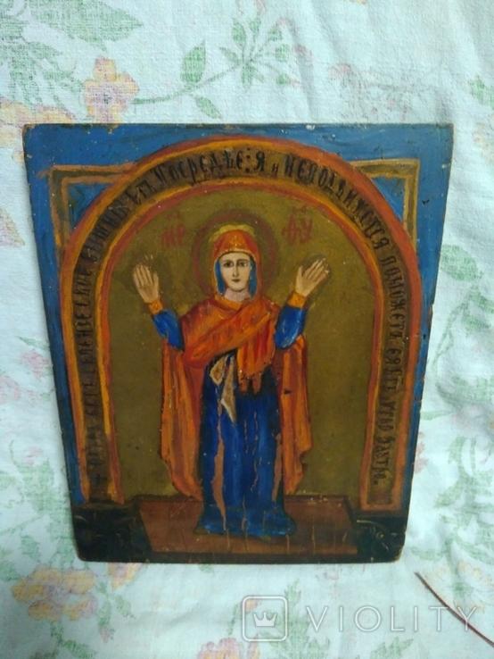 Икона Богородицы. Нерушимая стена., фото №9