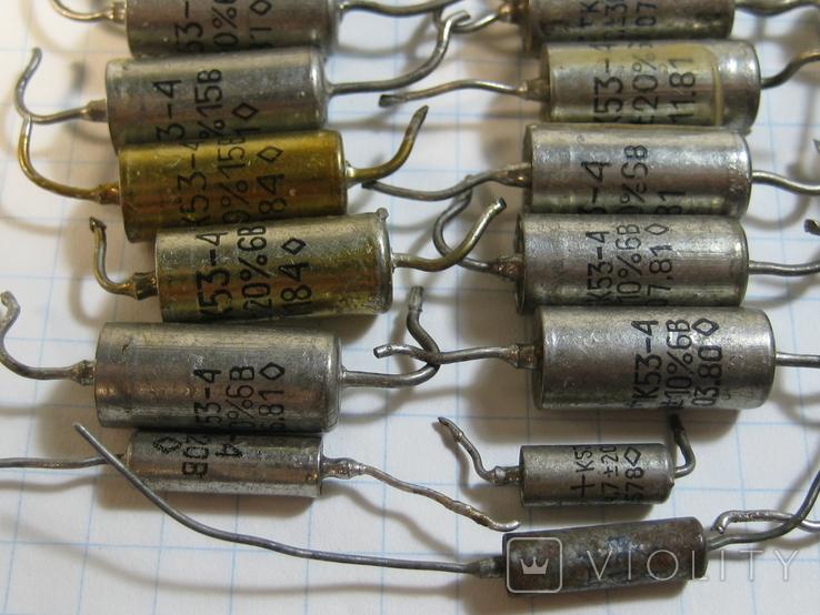 К53-4 конденсаторы, фото №4