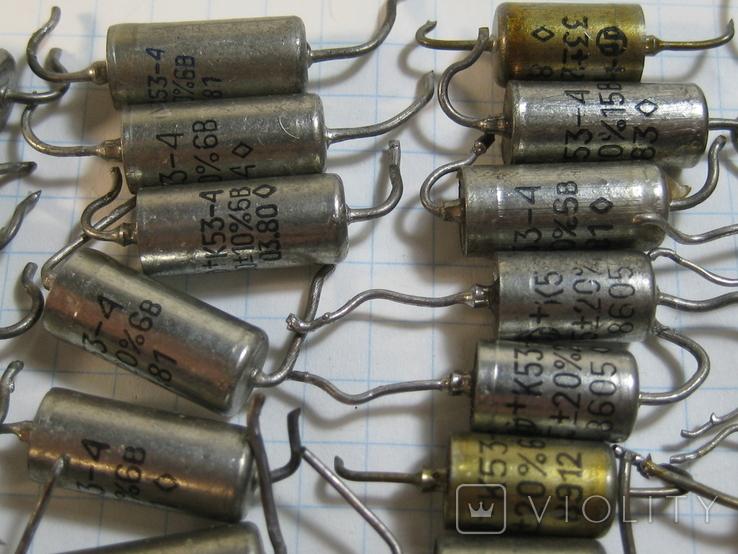 К53-4 конденсаторы, фото №5