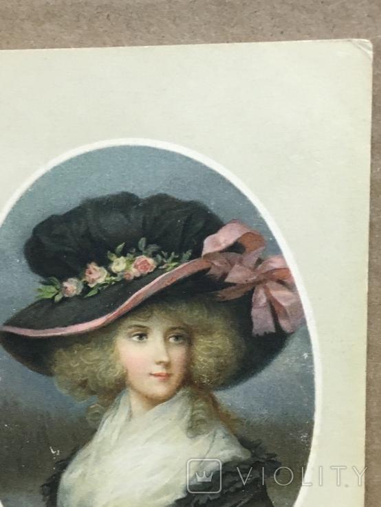Девушка в шляпке, фото №6