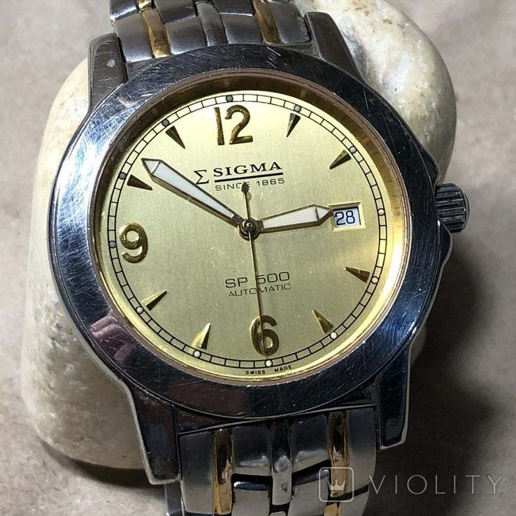 Часы Sigma . Swiss made, фото №2