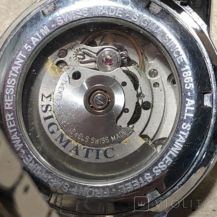 Часы Sigma . Swiss made, фото №9