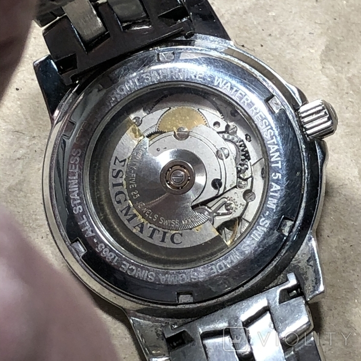 Часы Sigma . Swiss made, фото №10