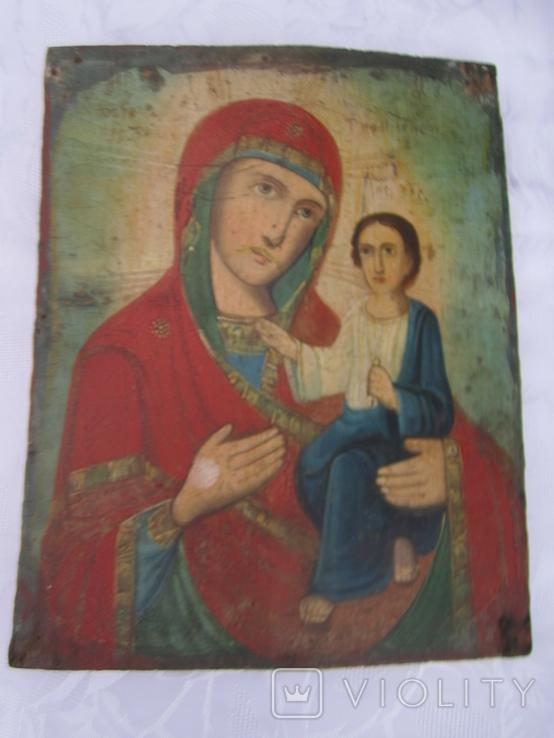 Икона Тихвинская Богородица, фото №2