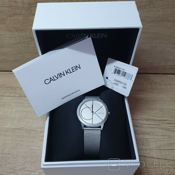 Новые Женские часы Calvin Klein K3M5215X, фото №2