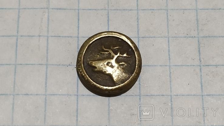Пуговица с головой оленя, фото №2