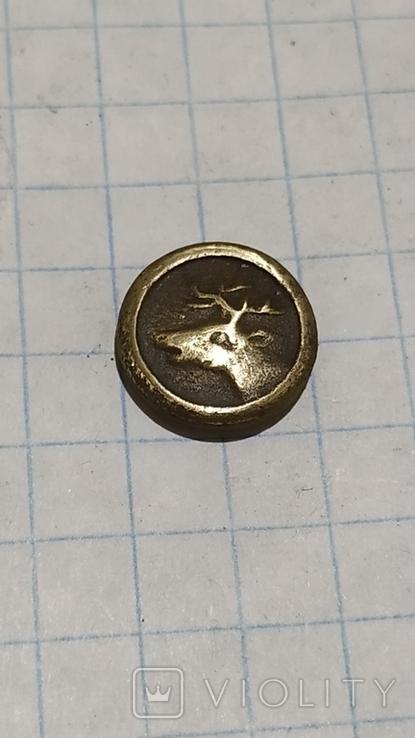 Пуговица с головой оленя, фото №3