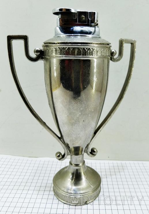 Зажигалка Кубок Коллекционная, Америка. U.S.S.A. V.BREV № 3477E. Клеймо, фото №3