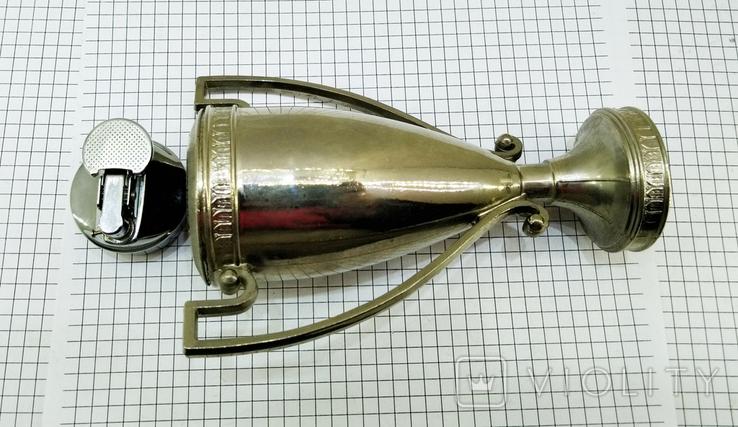 Зажигалка Кубок Коллекционная, Америка. U.S.S.A. V.BREV № 3477E. Клеймо, фото №9