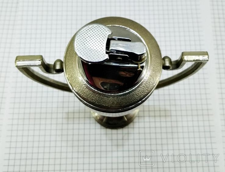 Зажигалка Кубок Коллекционная, Америка. U.S.S.A. V.BREV № 3477E. Клеймо, фото №10