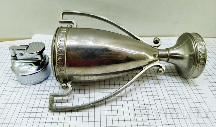 Зажигалка Кубок Коллекционная, Америка. U.S.S.A. V.BREV № 3477E. Клеймо, фото №12