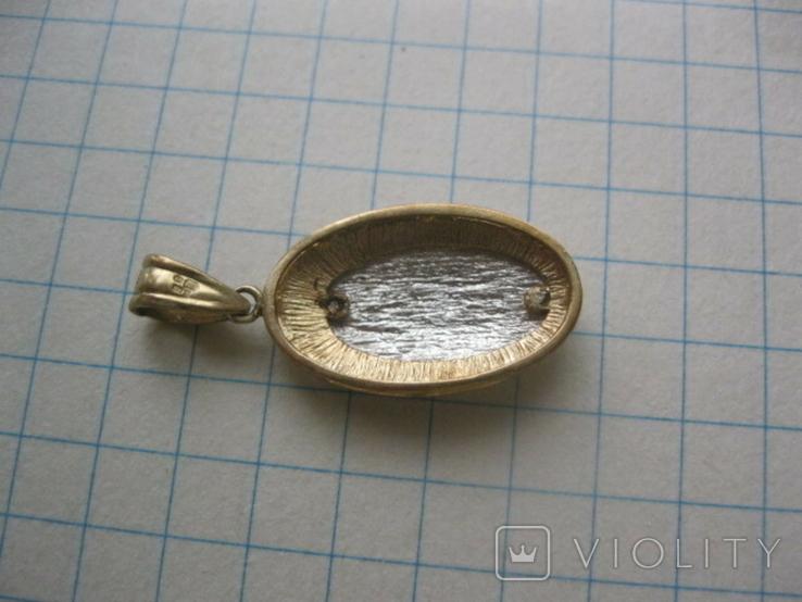 Медальон (9 карат 375 пр), фото №4