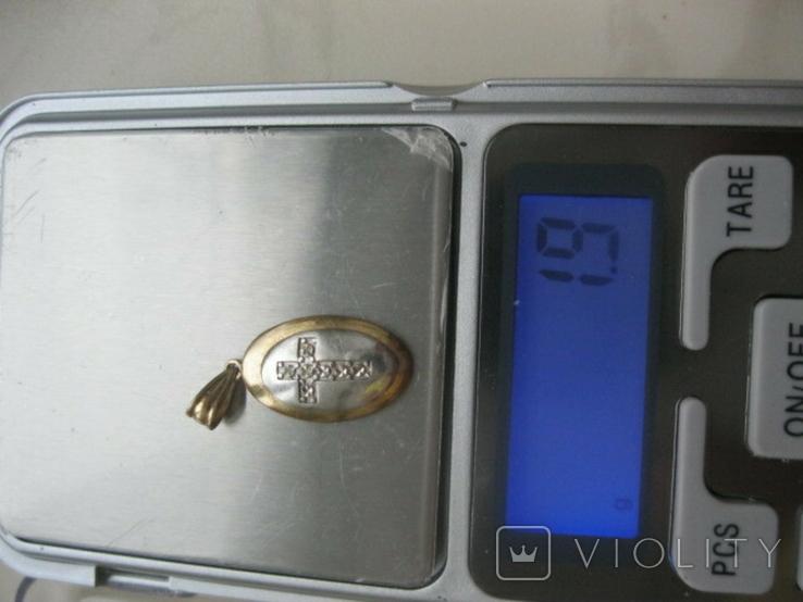 Медальон (9 карат 375 пр), фото №11