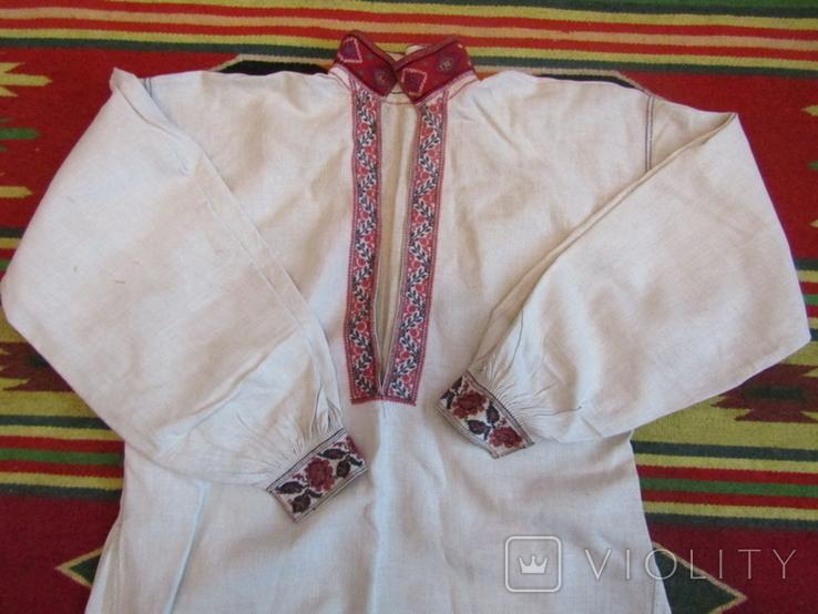 ЗахіднеПоділля. Старовинна вишита сорочка(чоловіча)., фото №2