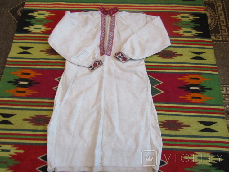 ЗахіднеПоділля. Старовинна вишита сорочка(чоловіча)., фото №3