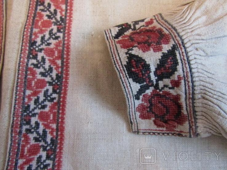 ЗахіднеПоділля. Старовинна вишита сорочка(чоловіча)., фото №6