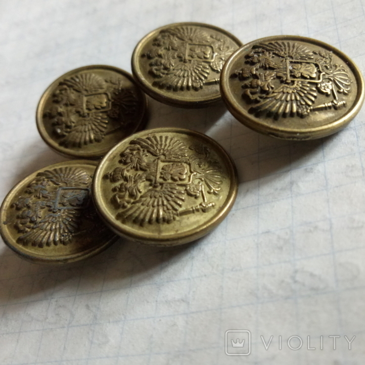 Пуговицы с гербом РИ, фото №4