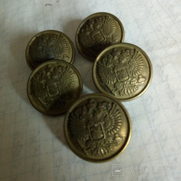 Пуговицы с гербом РИ, фото №6