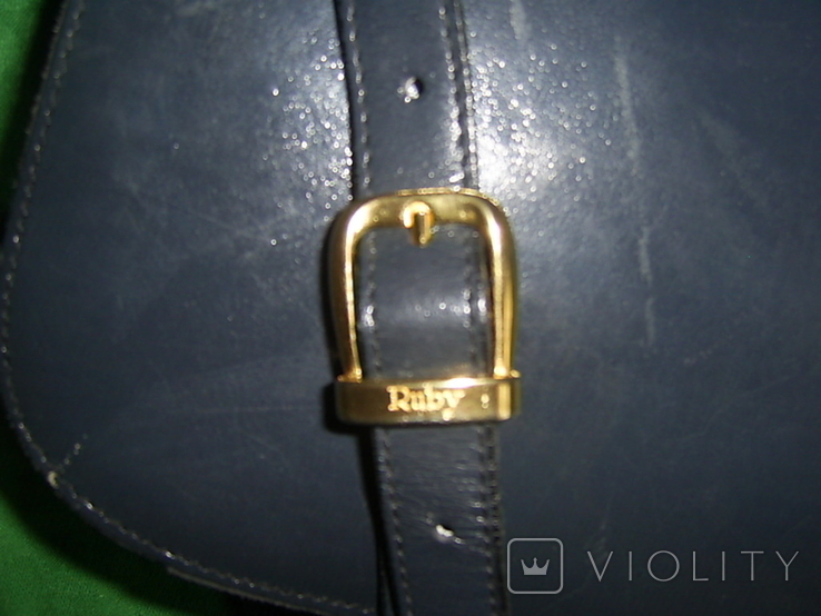 Сумка кожаная на ремешке Ruby Англия, фото №9