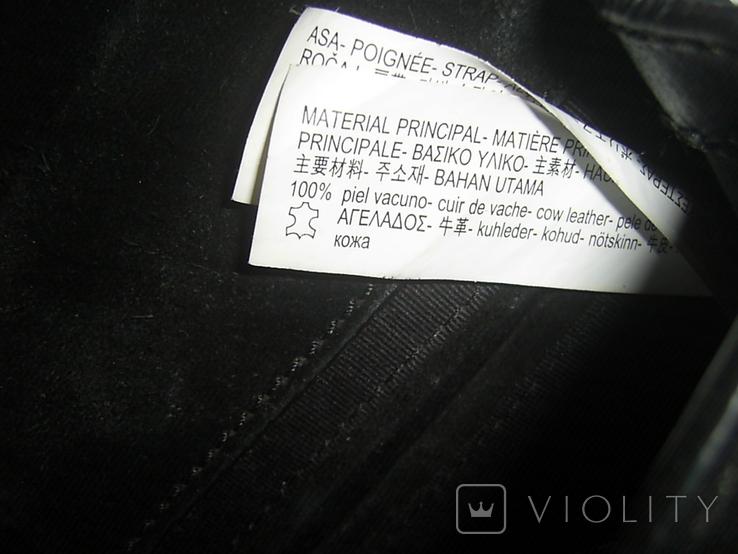 Сумка кожаная на ремешке-цепочке Zara Womаn, фото №7