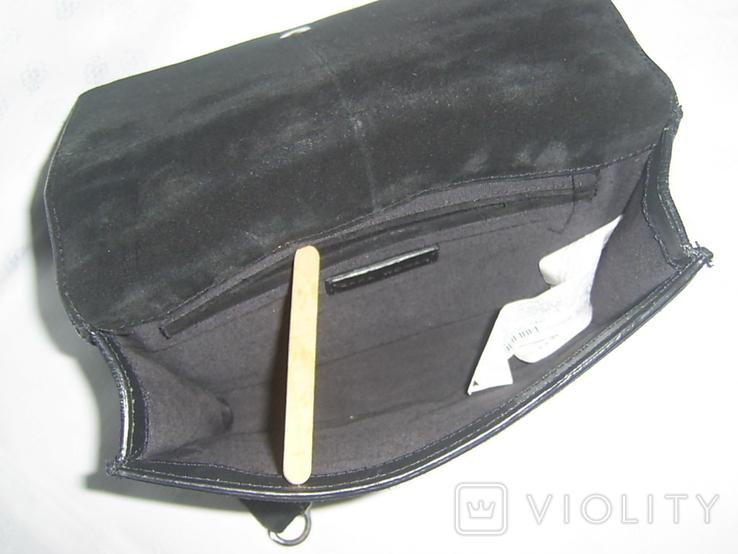 Сумка кожаная на ремешке-цепочке Zara Womаn, фото №10