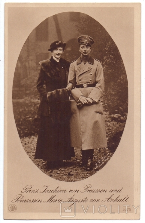 Принц Яхим и принцесса Мария Августа. Германия., фото №2