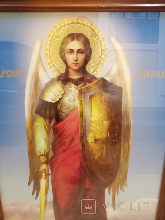 Большая икона Св. Архистратига Михаила, фото №4
