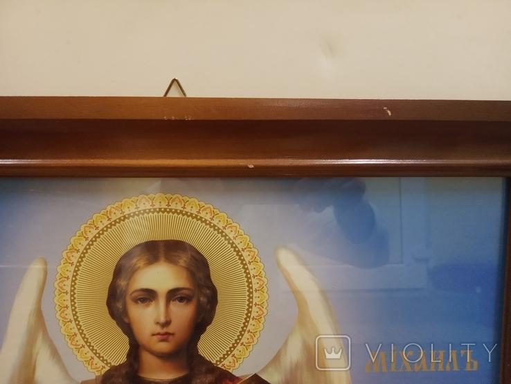 Большая икона Св. Архистратига Михаила, фото №5