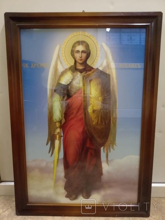 Большая икона Св. Архистратига Михаила, фото №8