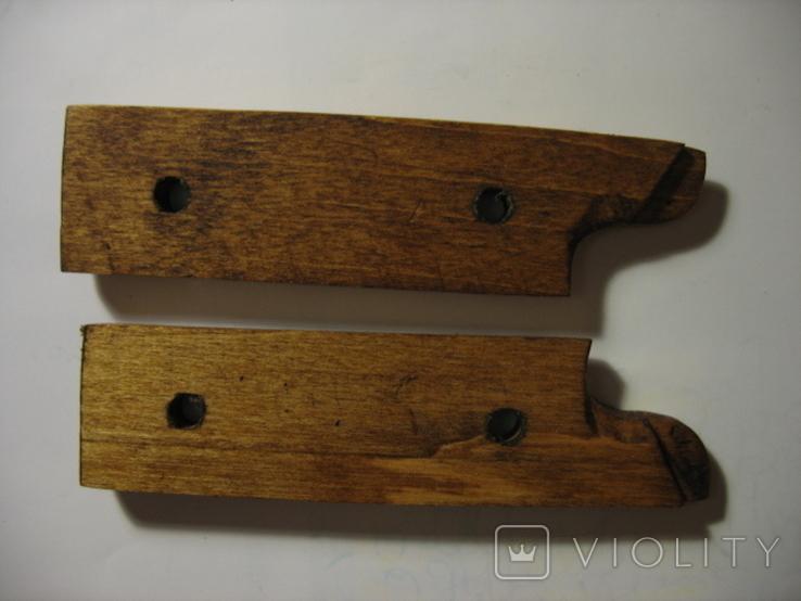 Штык СВТ-40, накладки рукояти + винты. копия, фото №4