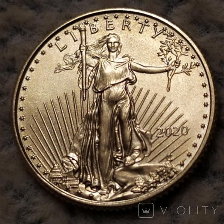 5 долларов 2020г.США., фото №5