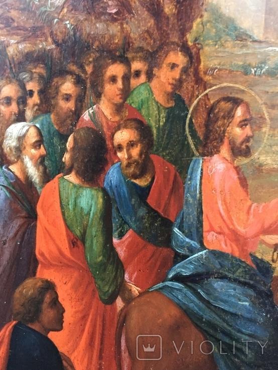 Икона Вход Господень в Иерусалим, фото №3