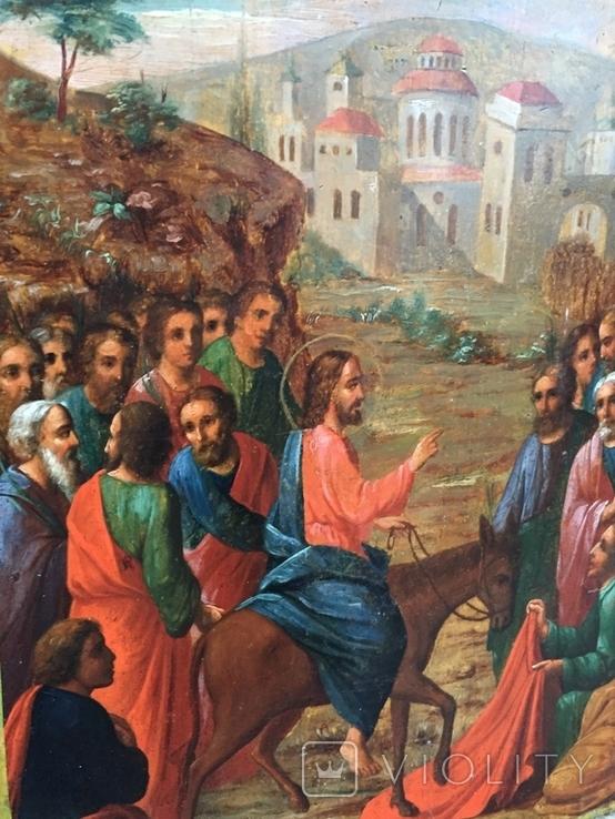 Икона Вход Господень в Иерусалим, фото №6