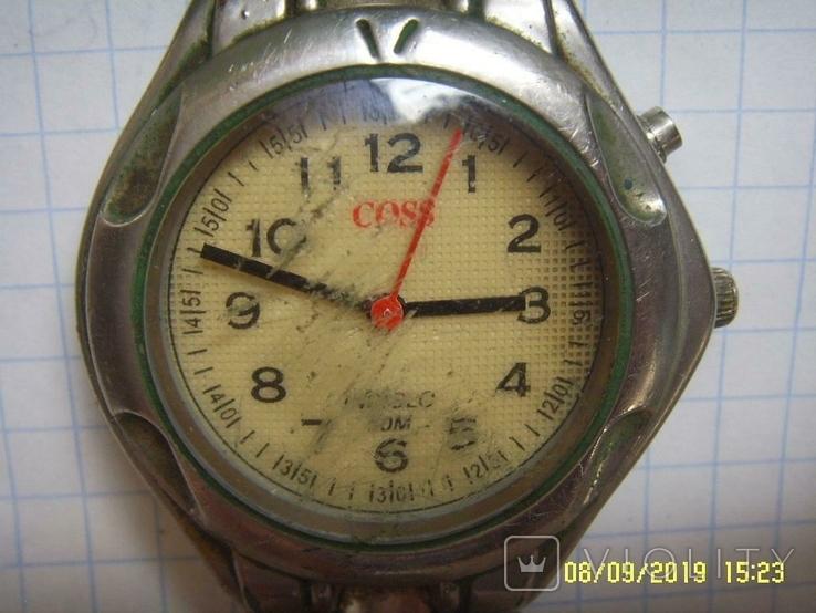 Часы Мужские COSS кварц. На запчасти., фото №2