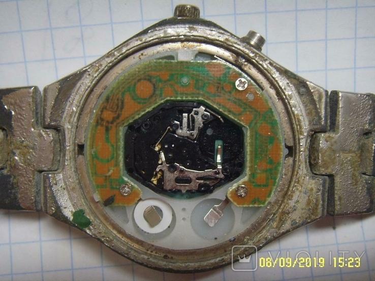 Часы Мужские COSS кварц. На запчасти., фото №3