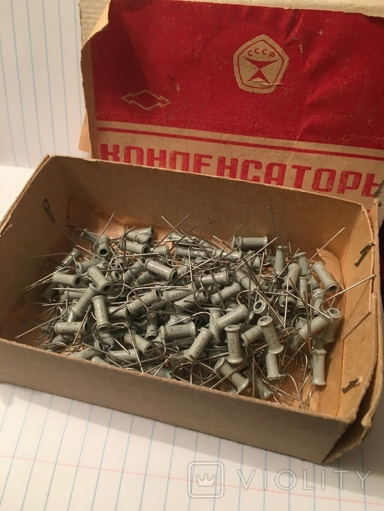 Конденсатори радиодеталі, фото №2