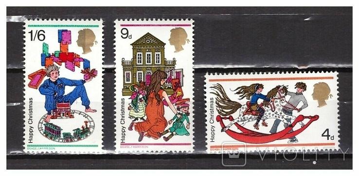 Великобритания 1968 Рождество