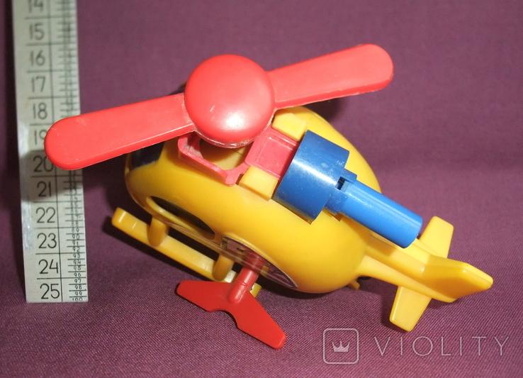 Вертолёт - заводная детская игрушка из СССР., фото №6
