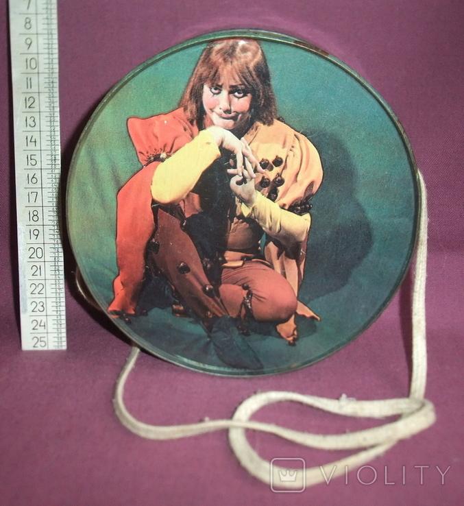 Барабан КЛОУН - детская игрушка из СССР., фото №5