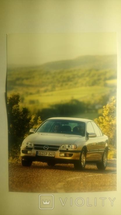 "№15 Автомобили ""OPEL"" 90-е Ориг. рекл. открытки концерна (большие), фото №2"