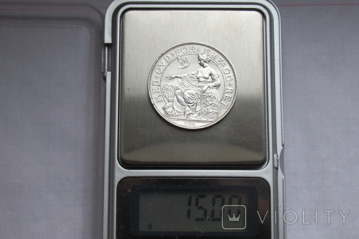 2 кроны 1903 г. Дания, серебро, фото №12