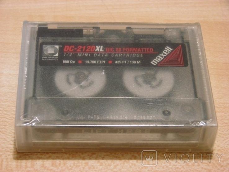 Кассета для стриммера Maxell DC 2120 XL, фото №2