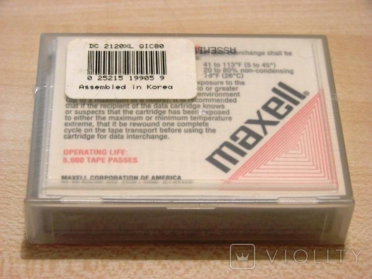 Кассета для стриммера Maxell DC 2120 XL, фото №3